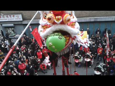 Lion Dancing Pole Teamwcm Lion Dance 2013 Giant