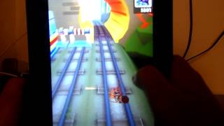 Subway Surf Pe Tableta (hack)