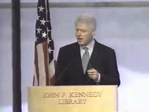 Bill Clinton: Role of the U.S. in the World