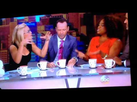 Donnie Wahlberg n Jon Knight talk NKOTB on The View