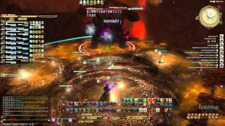 Final Fantasy XIV: ARR: Hard Mode Titan with 7 healers and 1 Tank