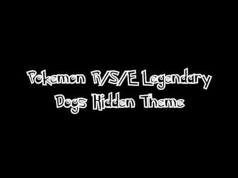 Pokemon R/S/E Legendary Dogs Hidden Theme