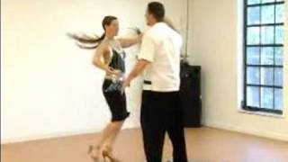 "How To Swing Dance : The ""Back Pass"" In Swing Dancing"