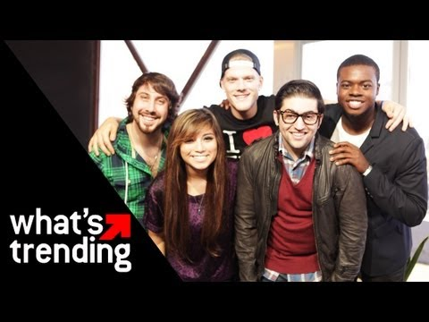 Pentatonix Justin Bieber/Katy Perry Cover Medley | WHAT'S TRENDING