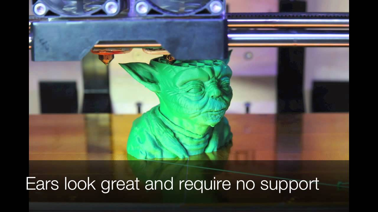 3D Printing Time Lapse Photography - Yoda - YouTube