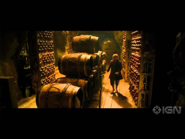 "The Hobbit: The Desolation of Smaug - ""Into The Barrels!"" Clip"