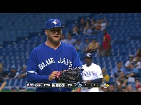 TOR@TB: Buehrle dominates Rays, fans 11 over 8 2/3