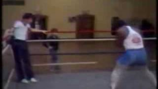 Boxing: Iron Mike Tyson Training And Knockout Highlight