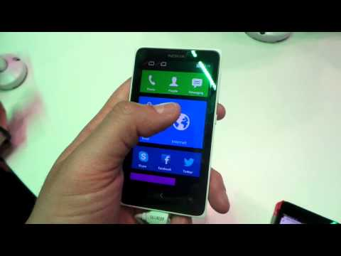 Nokia X hands-on [MWC 2014]