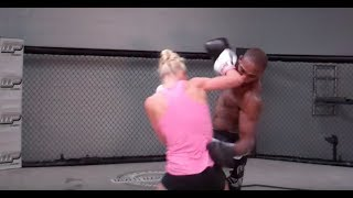 Holly Holm Boxing Jon Jones