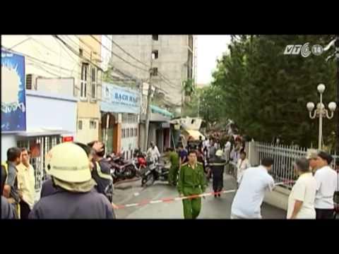 VTC14_TPHCM: Một vụ nổ lớn làm 4 nhà sập, 10 người chết