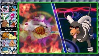 Thick Fat Hariyama Vs Super Houndoom? (Pokemon X And Y