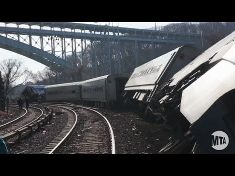 New York City Metro North Train Derailment: Train Going 82 MPH Before Accident