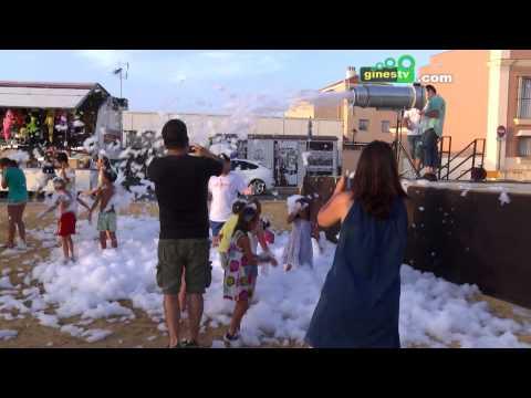 """Los pequeños disfrutaron de """"La Fiesta de Mr. Iglú"""" en la Feria de San Ginés 2015"""