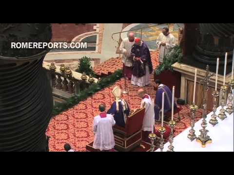 February: Benedict XVI leaves the Papacy