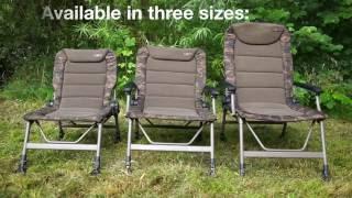 Puść film ***CARP FISHING TV*** R Series Camo Chairs