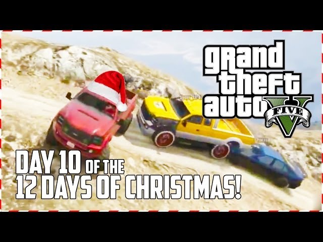 GTA 5 Online - Off-road Santa! (Day 10 of 12) (GTA V)