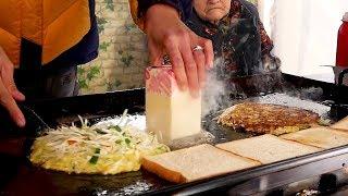 창동 할머니 토스트 - 한국 길거리음식 / Grandmother's Toast - Korean Street Food