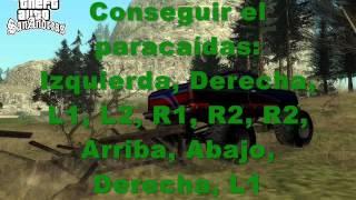 Trucos Para GTA San Andreas PS2 Sirven Hijos