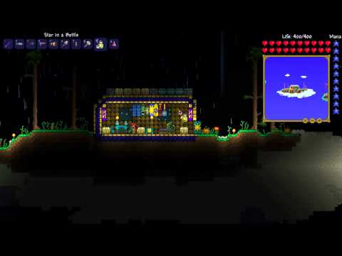 how to make a bottle in terraria xbox