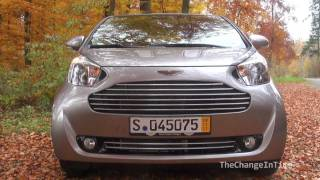 New Aston Martin Cygnet in Action