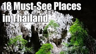 18 Must-See Places in Thailand
