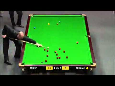 JUDD TRUMP vs STUART BINGHAM  UK MASTERS SNOOKER 2012  FRAME-2