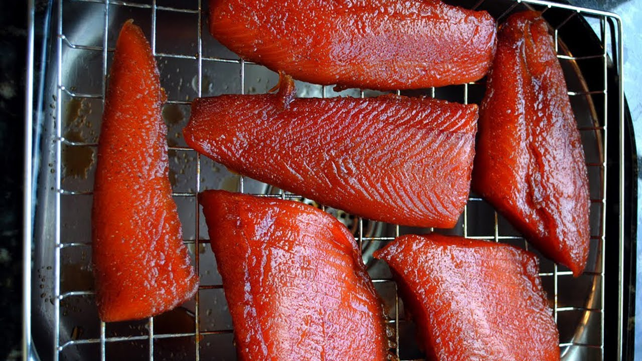 How To Smoke Salmon Easy Smoked Fish Recipe Youtube