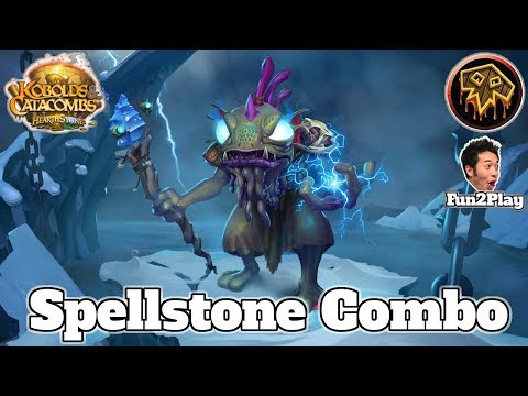 Gameplay Control Spellstone Shaman Kobolds And Catacombs | Hearthstone Guide How To Play