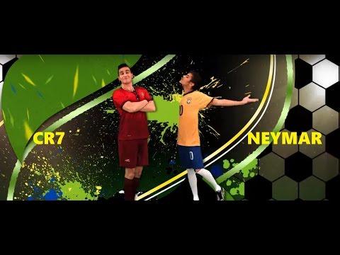 #FORÇANEYMAR  Homenagem ao Neymar, Batalha   CR7 VS NEYMAR
