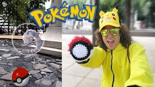 Atrapando Pokemón