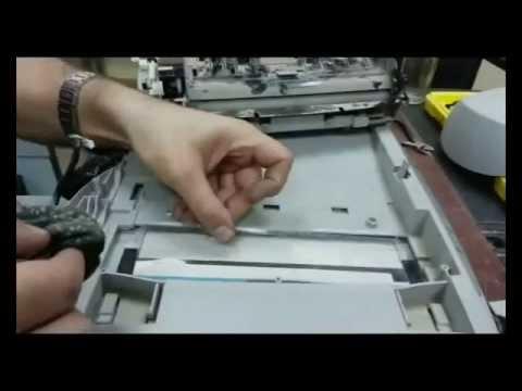 Ремонт сканера hp 2400 своими руками