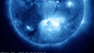 Sunspot 1520 Pops an X-Class Flare (7-12-2012)