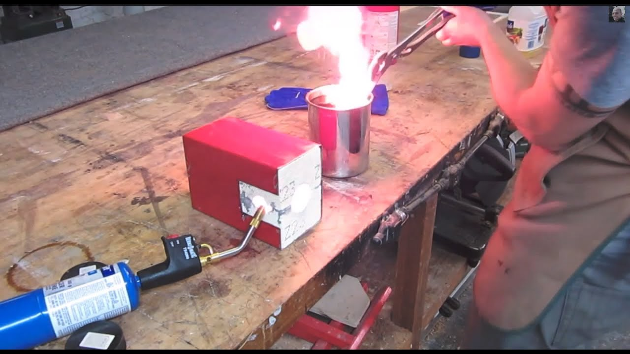 Knife Forging Ovens : How to heat treat an o knife blade using cheap common