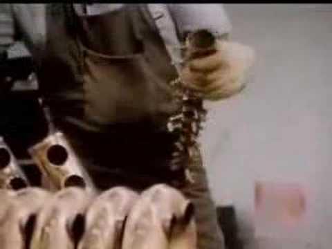 Como se frabrica un saxofón