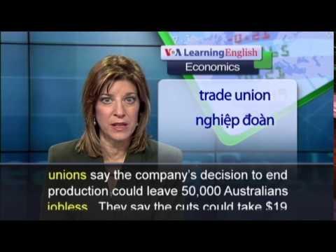 Anh ngữ đặc biệt: Australia Auto Industry (VOA-Ec Rep)