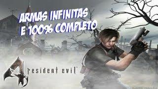 Resident Evil 4 [Ps2]Armas Infinitas E 100% Completo