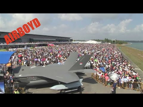 Singapore Airshow Outtakes (2014)