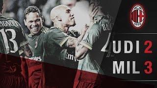 Udinese-AC Milan 2-3 | AC Milan Official