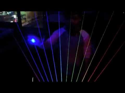 Laser Harp in Japan
