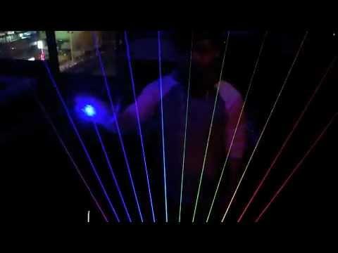 Laser Harp in Japan