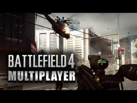 Battlefield 4 Multiplayer Gameplay Online E3 BF4 Conquest Jets Helicopters Commander PS4/XboxOne/PC