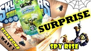 Stink Bomb & Spy Rise Surprise: Dirty Diapers & Spiders