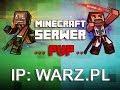 Minecraft Serwer PVP WARZ.PL 1.6.* - 1.7.*