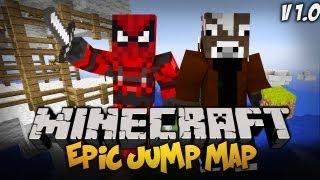 Minecraft : TROLLOWANIE Z MANDZIEM Epic Jump Map 1.0 W