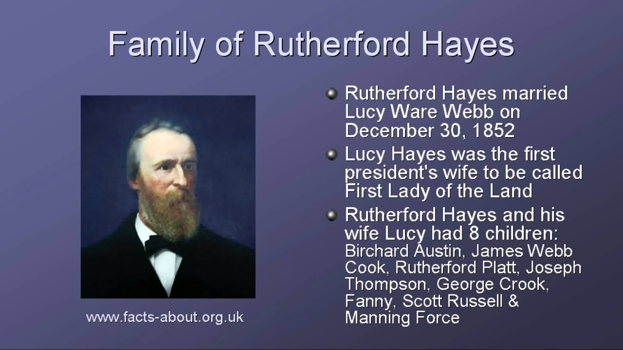 president rutherford hayes biography