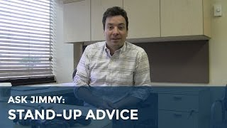 Jimmy Fallon's Stand-up Advice