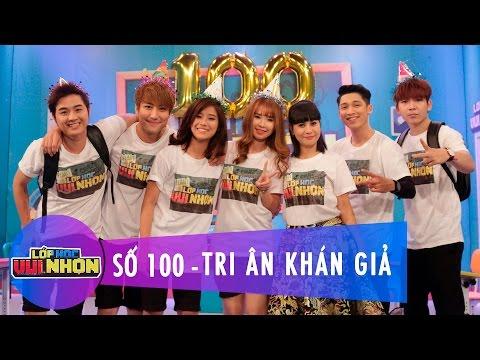 Lớp Học Vui Nhộn 100 | Tri Ân Khán Giả | Huy Nam & Hoàng Yến Chibi | Fullshow [Game Show]