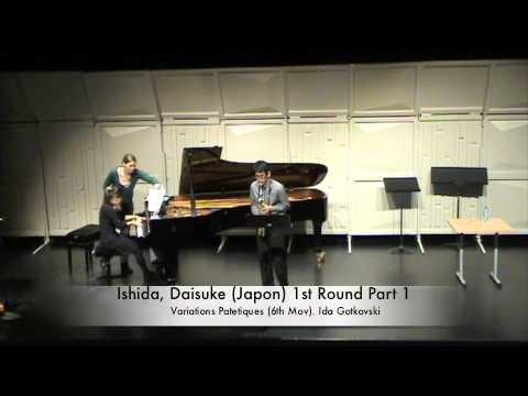 Ishida, Daisuke (Japon) 1st Round Part 1