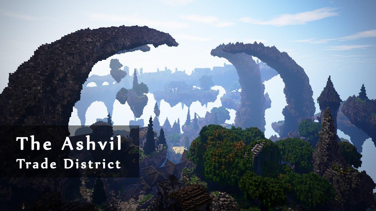 Скриншот для файла: The Ashvil - Trade District